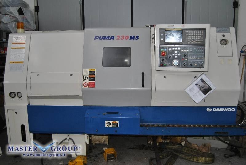 TORNIO CNC A 4 ASSI - USATO - DAEWOO - PUMA 230 MSB