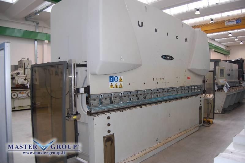 PIEGATRICE CNC SINCRONIZZATA A 3 ASSI - USATA - WARCOM - UNICA 160-40