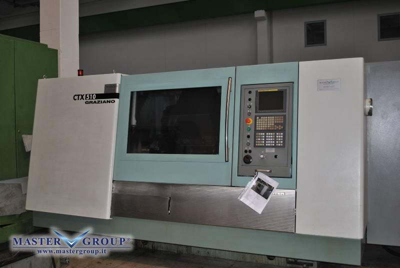 TORNIO CNC A 3 ASSI - USATO - DMG - GILDEMEISTER CTX 510