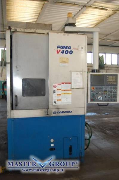 TORNIO VERTICALE A 2 ASSI - USATO - DAEWOO - PUMA V400