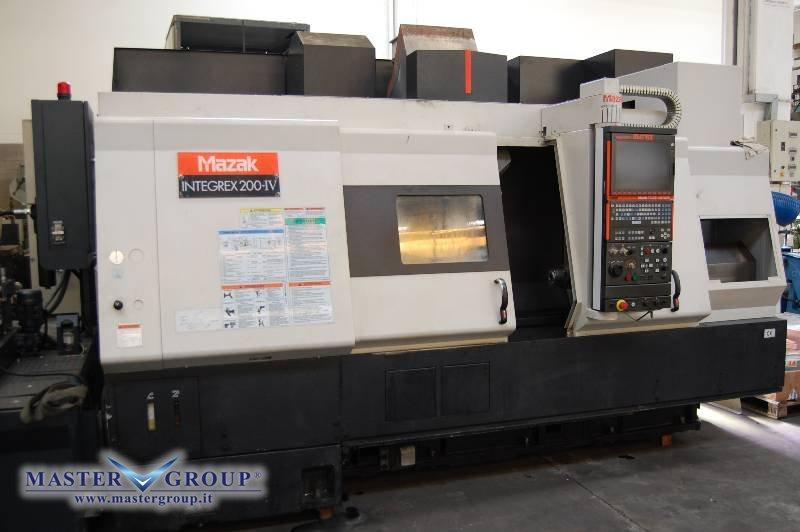 TORNIO CNC A 5 ASSI - USATO - MAZAK - INTEGREX 200-IV