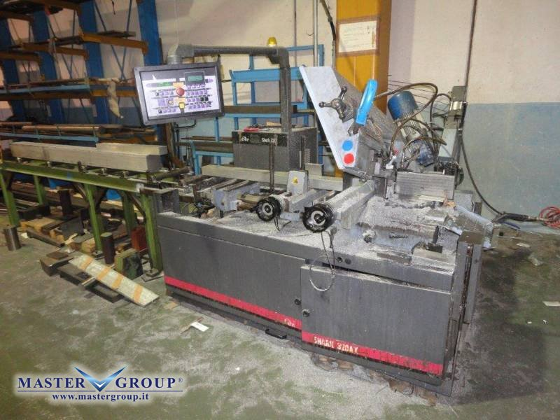 SEGATRICE A NASTRO CNC - USATA - MEP - SHARK 320 AX