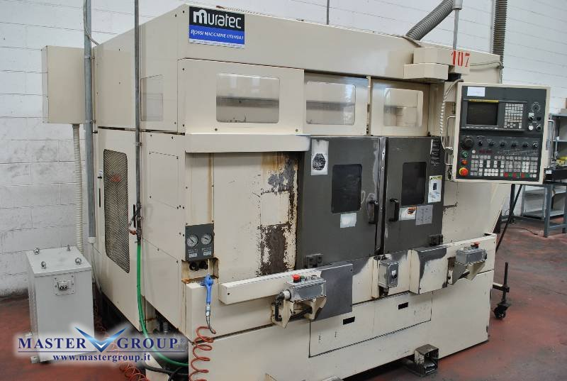 TORNIO FRONTALE BIMANDRINO CNC A 2+2 ASSI - USATO - MURATEC - MW20
