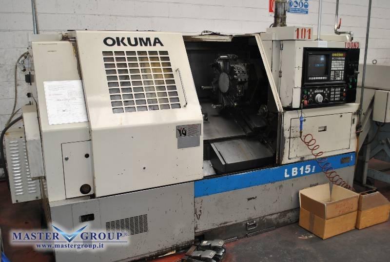 TORNIO CNC A 2 ASSI - USATO - OKUMA - LB 15 II