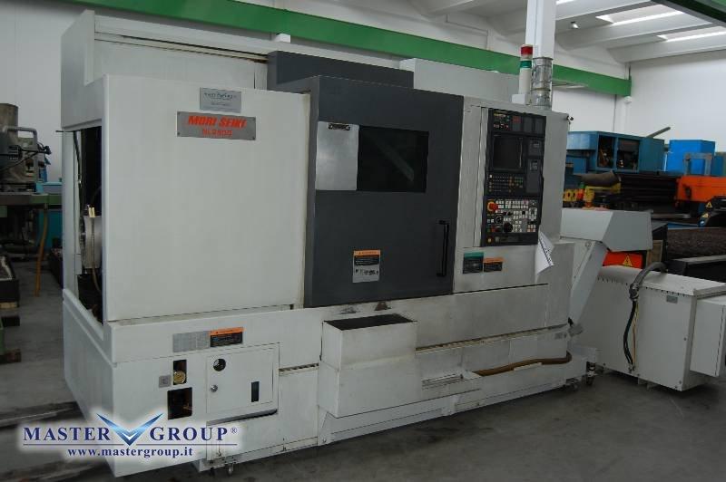 TORNIO CNC A 3 ASSI - USATO - MORI SEIKI - NL2500MC/700