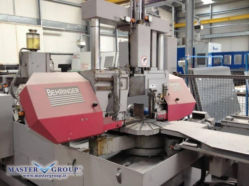 SEGATRICE A NASTRO CNC DOPPIO MONTANTE - USATA - BEHRINGER - HBP 310-403 GA-PC