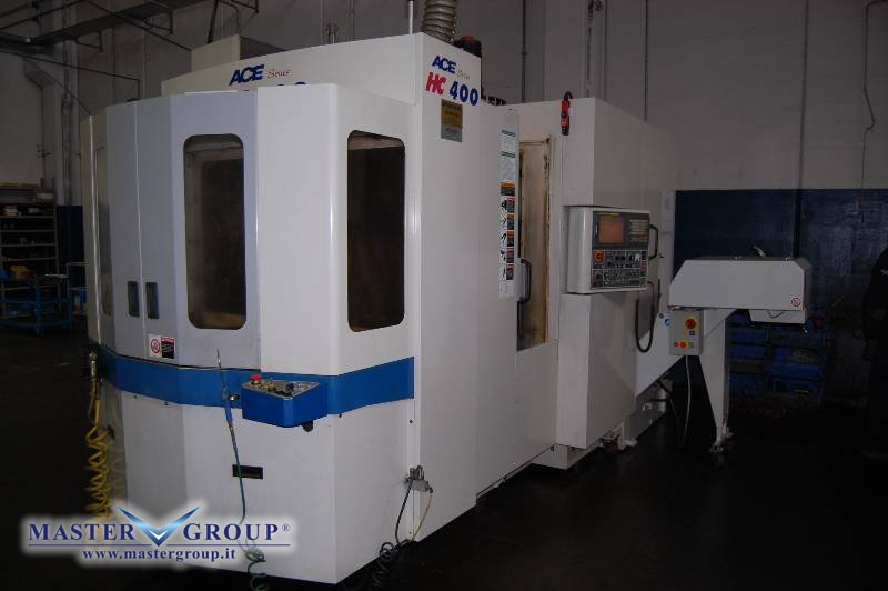 CENTRO DI LAVORO ORIZZONTALE 4 ASSI CON ROTOPALLET -USATO- DAEWOO - ACE HC400