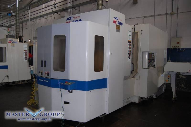 CENTRO DI LAVORO ORIZZONTALE 4 ASSI CON ROTOPALLET -USATO- DAEWOO - ACE HC500