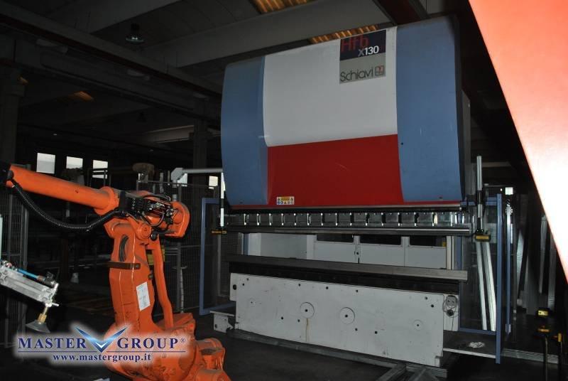 PIEGATRICE CNC SINCRONIZZATA A 7 ASSI - USATA - SCHIAVI - HFBX 130/31
