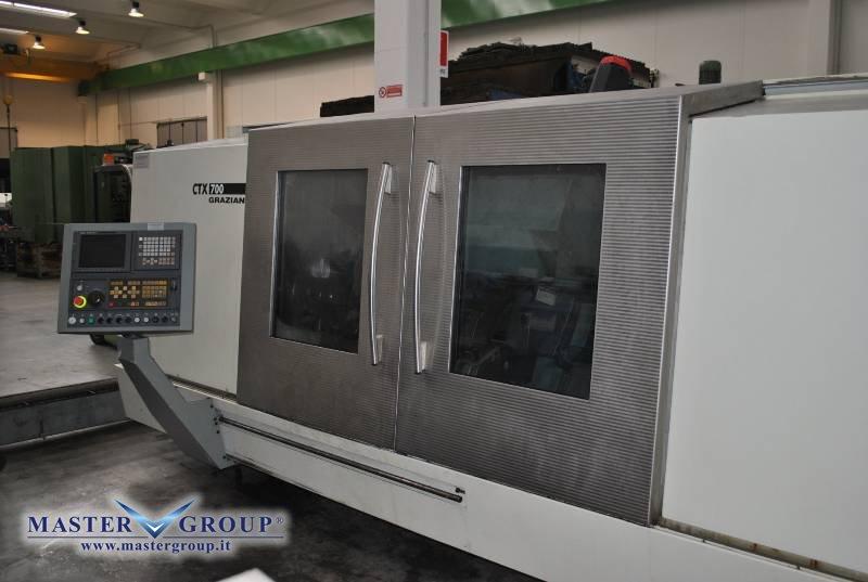 TORNIO CNC A 3 ASSI - USATO - DMG - GRAZIANO CTX 700