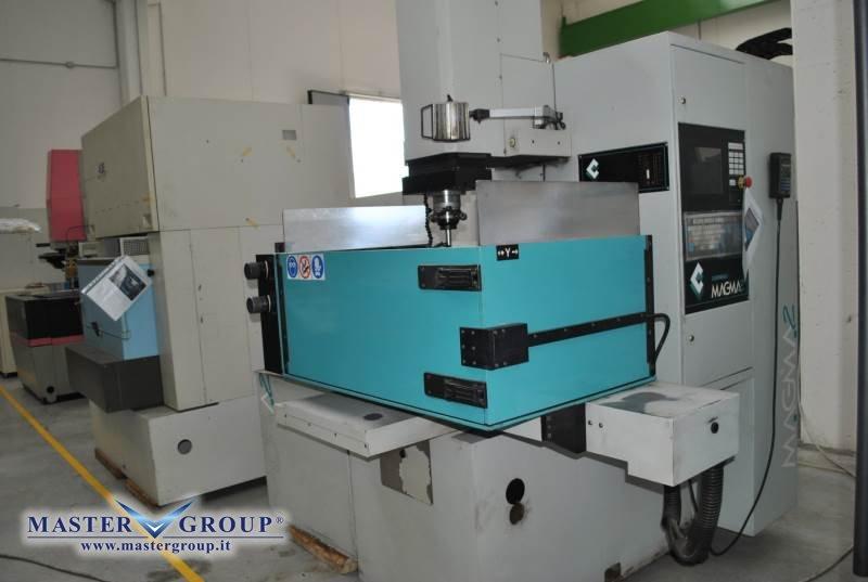 ELETTROEROSIONE A TUFFO CNC - USATA - CORMAC - MAGMA 3.8E
