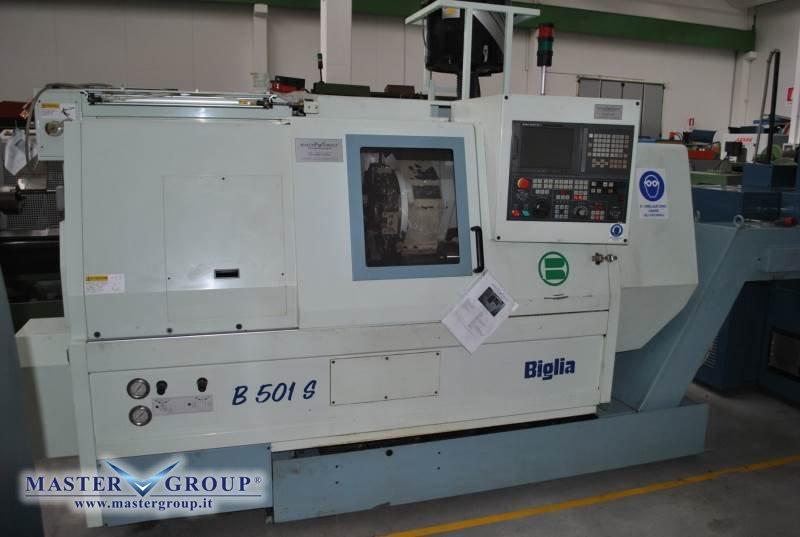 TORNIO CNC A 2 ASSI - USATO - BIGLIA - B 501/S