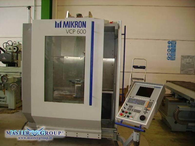 MIKRON - VCP 600 CNC HEIDENHAIN