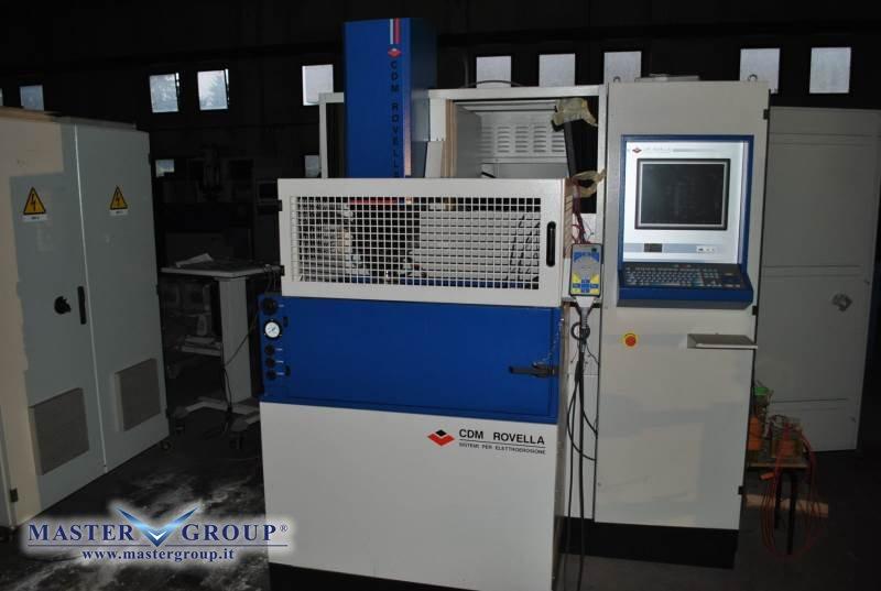 ELETTROEROSIONE A TUFFO CNC - NUOVA -  CDM ROVELLA - BF 53 SPAZIO HS