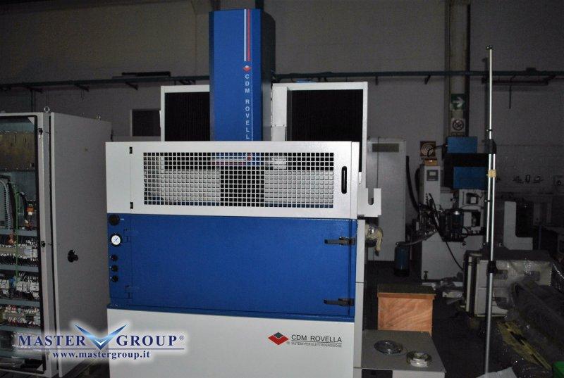 ELETTROEROSIONE A TUFFO CNC - NUOVA -  CDM ROVELLA - BF 74 SPAZIO HS