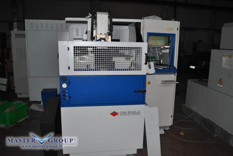 ELETTROEROSIONE A TUFFO CNC - NUOVA -  CDM ROVELLA - BF 53 SPAZIO
