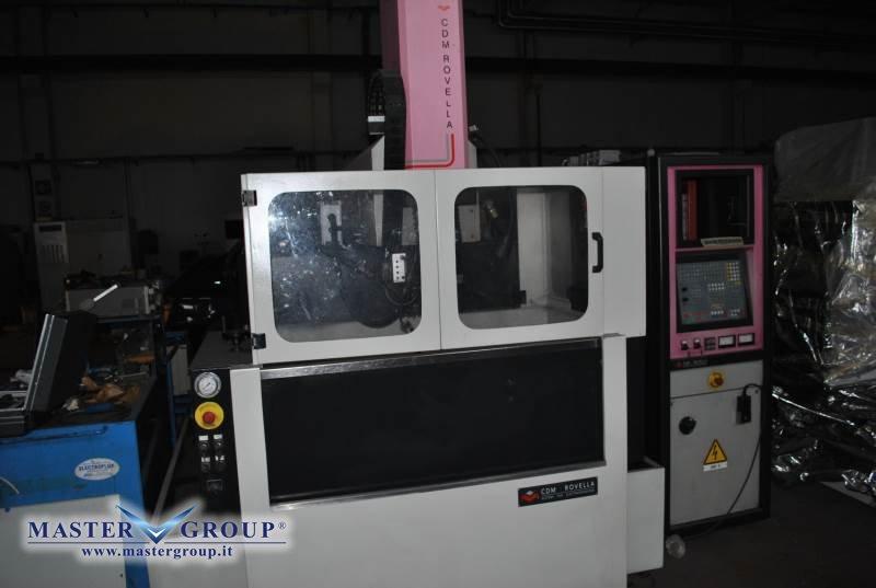 ELETTROEROSIONE A TUFFO CNC - USATA - CDM ROVELLA - BF 600 ZENIT