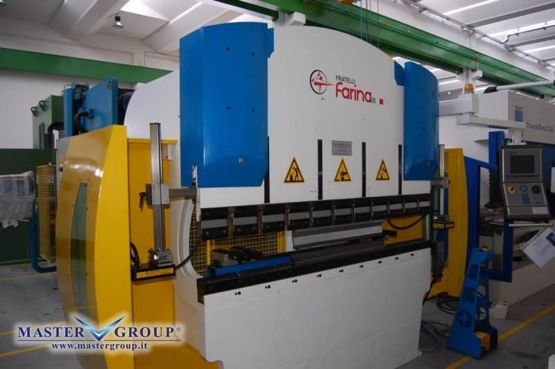 PIEGATRICE CNC SINCRONIZZATA A 4 ASSI - USATA - F.LLI FARINA - PFO/PS/N 65/20