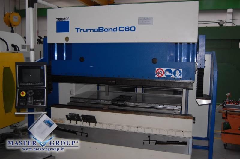 PIEGATRICE CNC SINCRONIZZATA A 6 ASSI - USATA -  TRUMPF - TRUMABEND C60