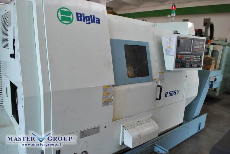TORNIO CNC A 4 ASSI - USATO - BIGLIA - B565Y