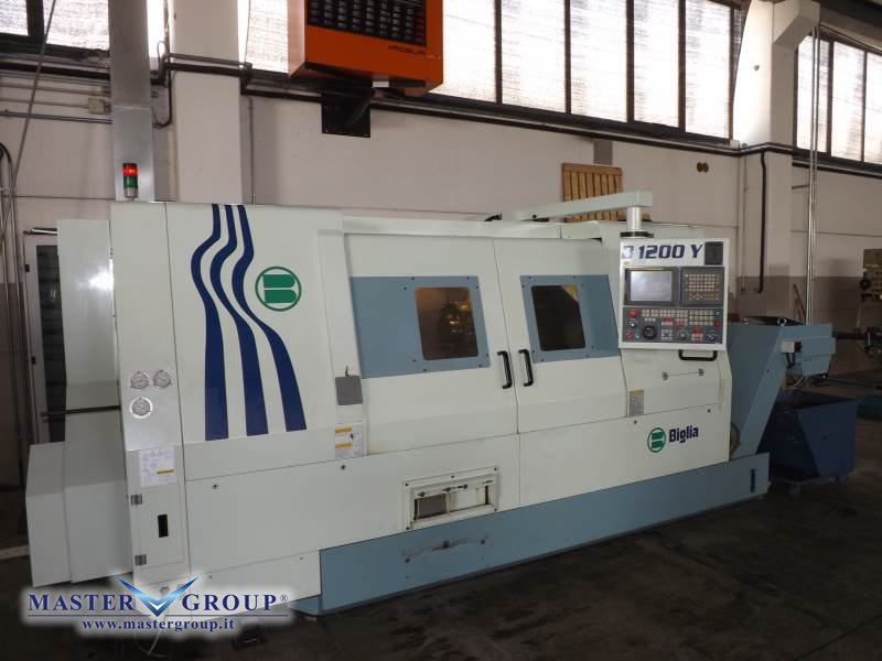 TORNIO CNC A 4 ASSI - USATO - BIGLIA - B 1200Y