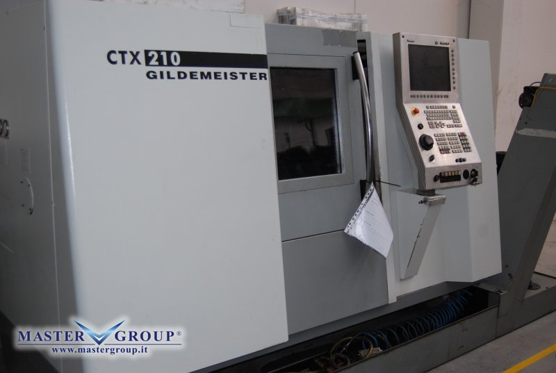 TORNIO CNC A 3 ASSI - USATO - DMG - GILDEMEISTER CTX 210