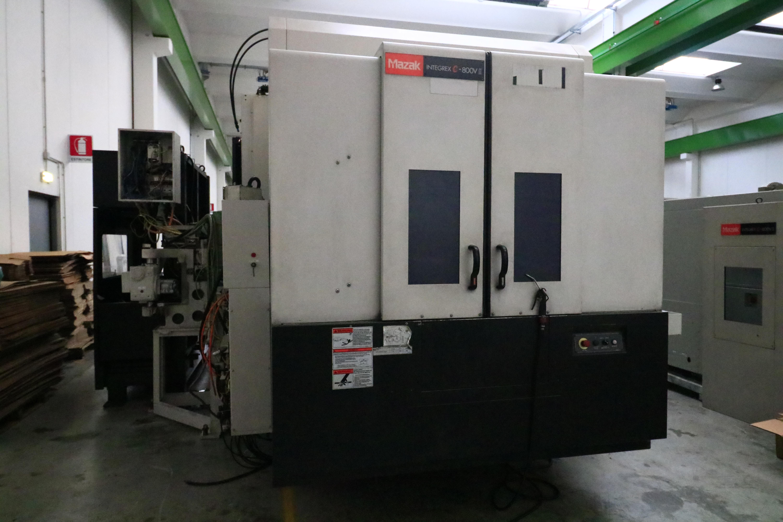 MAZAK - INTEGREX e-800V/5 2PC II