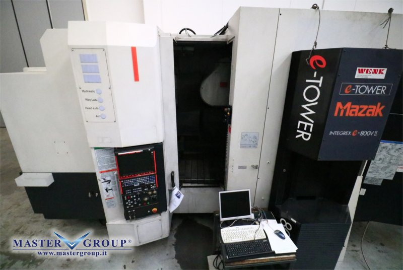 MAZAK - INTEGREX e-800V/5 2PC II