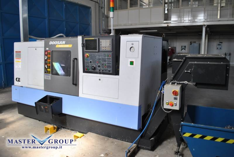 TORNIO CNC A 3 ASSI - USATO - DOOSAN - PUMA 240MB
