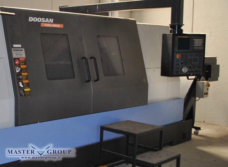 TORNIO CNC A 3 ASSI - USATO - DOOSAN - PUMA 400 LMB