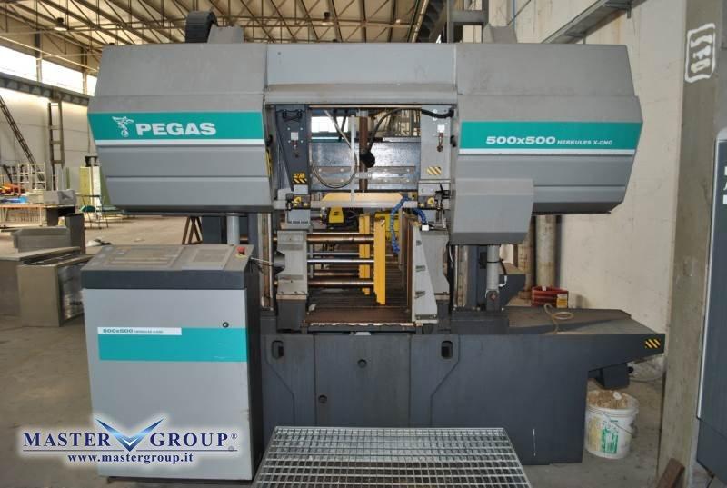 SEGATRICE A NASTRO CNC DOPPIO MONTANTE - USATA - PEGAS - 500X500 HERKULES-X CNC