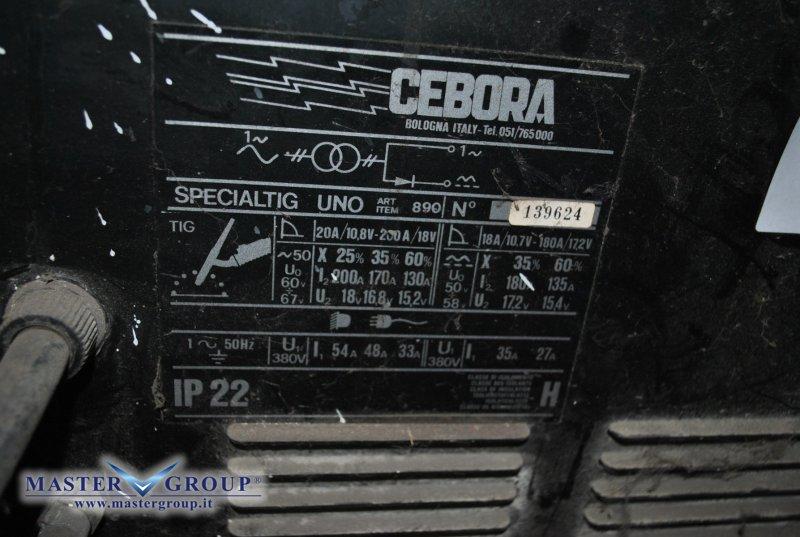 CEBORA  - SPECIAL TIG UNO