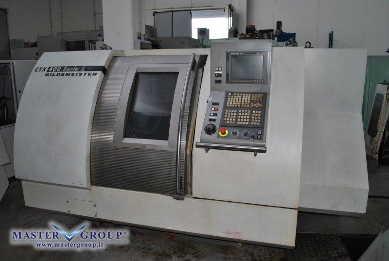 TORNIO CNC A 2 ASSI - USATO - DMG - GILDEMEISTER CTX 400 S2