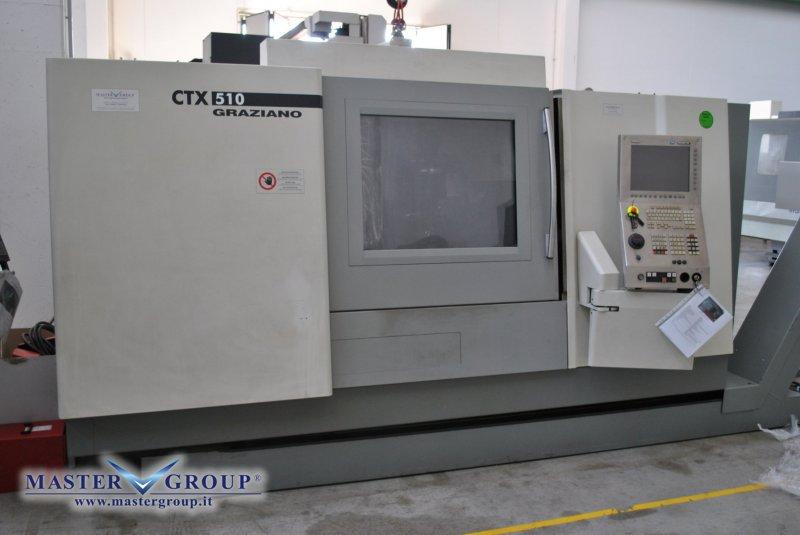 TORNIO CNC A 3 ASSI - USATO - DMG - GRAZIANO CTX 510