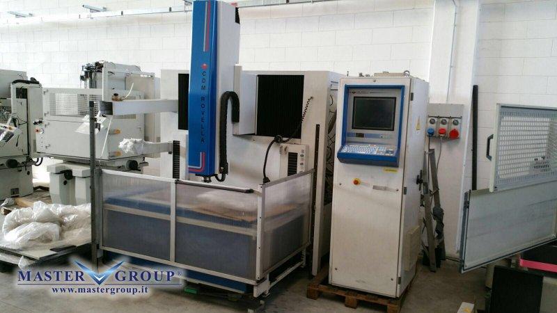 ELETTROEROSIONE A TUFFO CNC - USATA - CDM ROVELLA - VS 800HS SPAZIO
