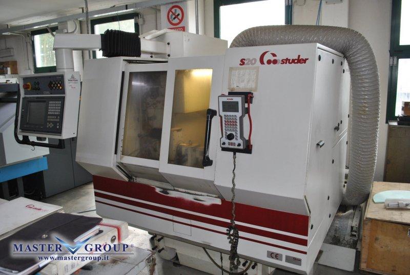 RETTIFICA PER INTERNI A CNC - USATA - STUDER - S20 CNC