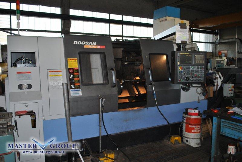 TORNIO CNC A 2 ASSI - USATO - DOOSAN - PUMA 400B