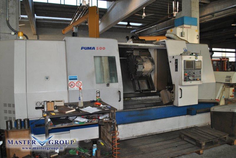 TORNIO CNC A 2 ASSI - USATO - DAEWOO - PUMA 500