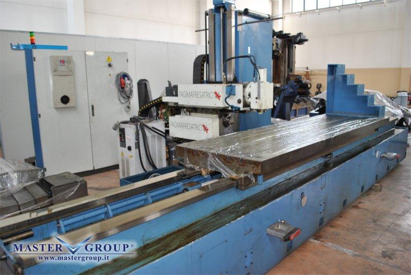 FRESATRICE CNC A T 3 ASSI CON MANDRINO ORIZZONTALE/VERTICALE - USATA -  FAGIMA - MMO 300