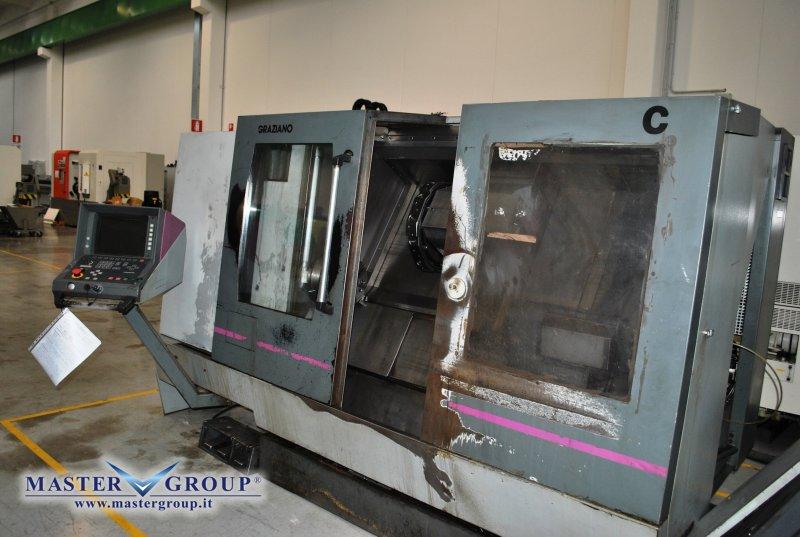 TORNIO CNC A 2 ASSI - USATO - GRAZIANO - MT 500