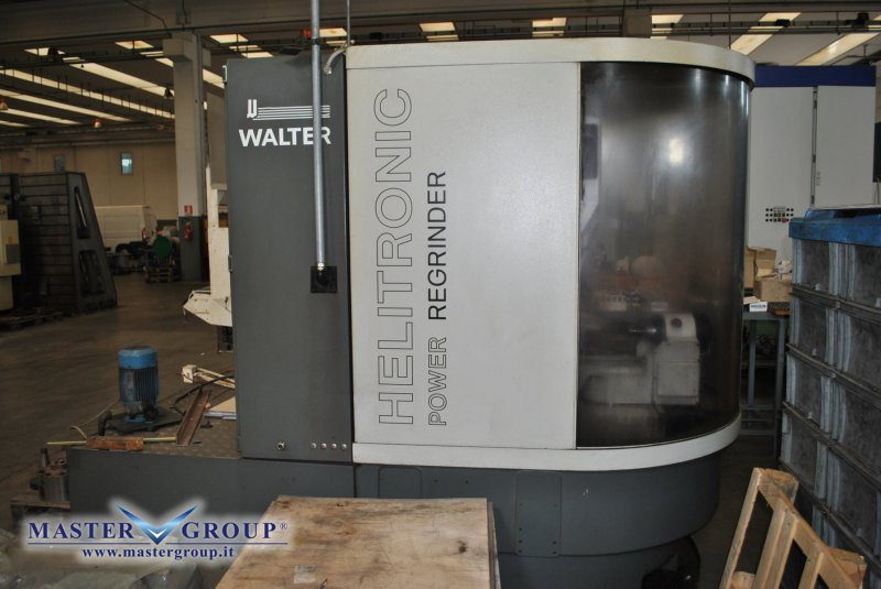 AFFILATRICE A CNC - USATA - WALTER - HELITRONIC POWER REGRINDER