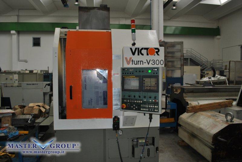 TORNIO VERTICALE CNC A 2 ASSI -USATO- VICTOR TAICHUNG - VTURN - V300