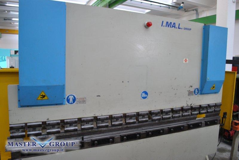 PIEGATRICE CNC A 3 ASSI - USATA -  IMAL - E2A 100-33