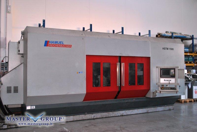 CENTRO DI LAVORO VERTICALE 5 ASSI - USATO -  HAMUEL - HSTM 1500