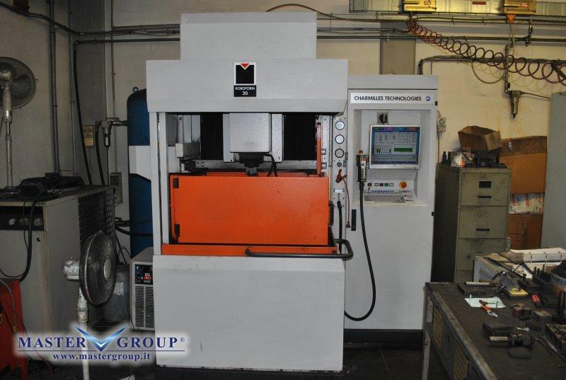 ELETTROEROSIONE A TUFFO CNC - USATA - CHARMILLES - ROBOFORM 30