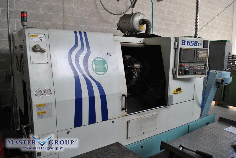 TORNIO CNC A 4 ASSI - USATO - BIGLIA - B658YB