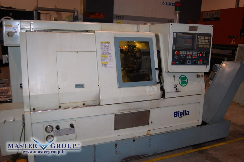 TORNIO CNC A 3 ASSI - USATO - BIGLIA - B501/M