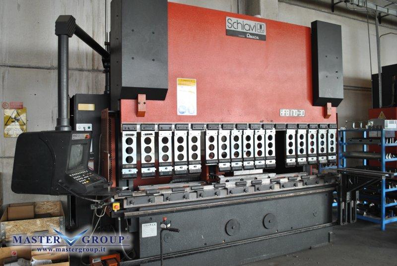PIEGATRICE CNC SINCRONIZZATA A 6 ASSI - USATA -  SCHIAVI - HFB 170/30