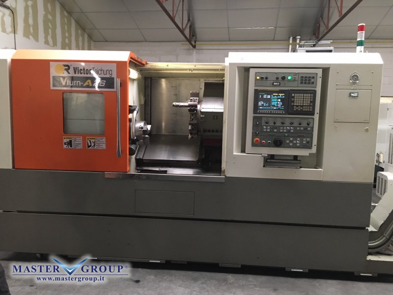 TORNIO CNC A 2 ASSI - USATO - VICTOR TAICHUNG - A26/85