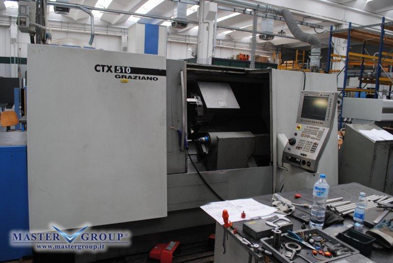 TORNIO CNC A 2 ASSI - USATO - DMG - GRAZIANO CTX 510